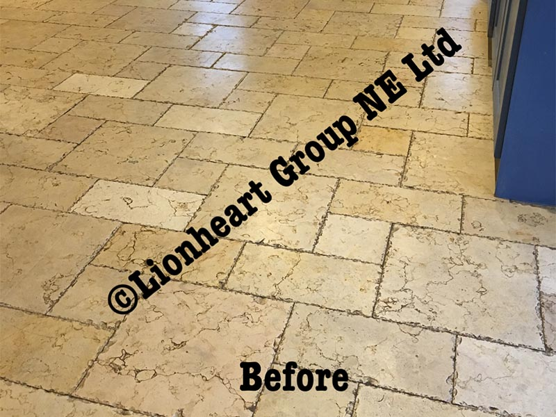 Stone Floor Cleaning Northumberland