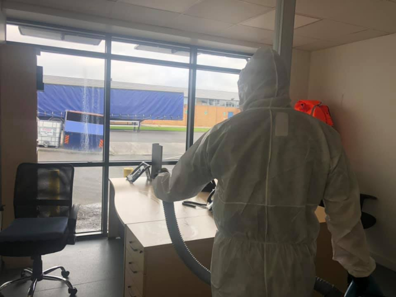 northumberland infection control cleaning