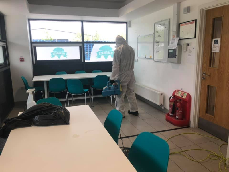 northumberland sanitisation cleaning